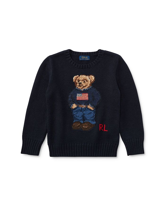 Ralph Lauren - Boys' Bear Sweater - Little Kid, Big Kid