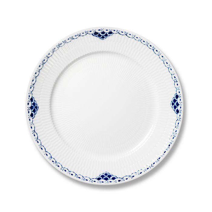 "Royal Copenhagen - ""Princess"" Salad Plate, 7.5"""