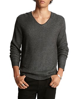 John Varvatos Collection - Wool Regular Fit V-Neck Sweater