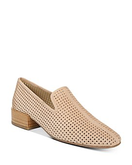 Via Spiga - Women's Baudelaire Perforated Leather Loafers