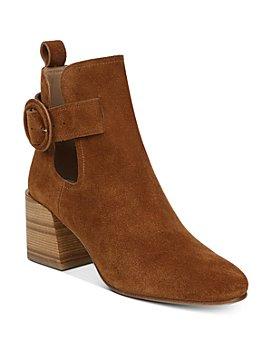 Via Spiga - Women's Darcie Block Heel Booties