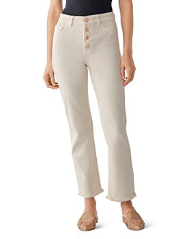 DL1961 - DL1961 Mara High-Rise Ankle Straight Jeans in Sandshell - 100% Exclusive