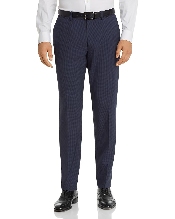 Theory - Mayer Tonal Check Slim Fit Suit Pants