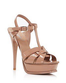 Saint Laurent - Women's Tribute Platform Sandals