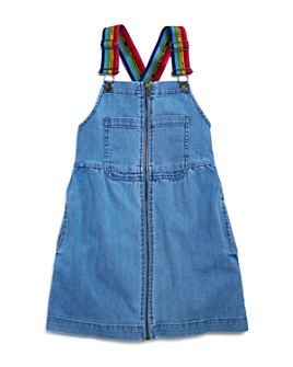 Stella McCartney - Girls' Denim Overall Dress - Little Kid, Big Kid