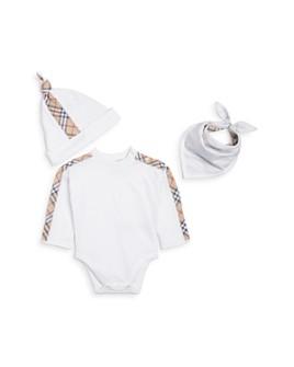 Burberry - Unisex Alby Three-Piece Gift Set - Baby