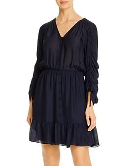 Parker - Fletcher Ruched Sleeve Dress