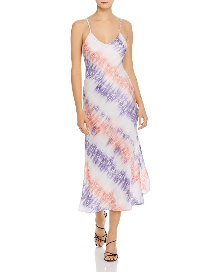 Re:named Re: Named Tie-dye Slip Dress - 100% Exclusive In Pink/purple