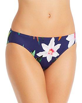 Ralph Lauren - Watercolor Floral Hipster Tankini Bottom