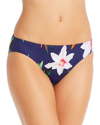 Ralph Lauren - Watercolor Floral Hipster Tankini Bottom