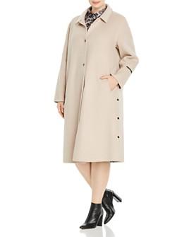Marina Rinaldi - Tarina Virgin Wool-Blend Coat