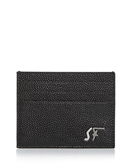 Salvatore Ferragamo - Signature Pebbled Leather Card Case