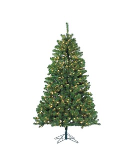 Gerson Company - 7 ft. Montana Pine with Clear Lights