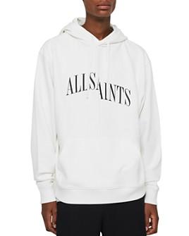 ALLSAINTS - Dropout Logo Hoodie Sweatshirt