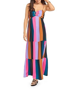 Show Me Your MuMu Juniper Color-Blocked Maxi Dress