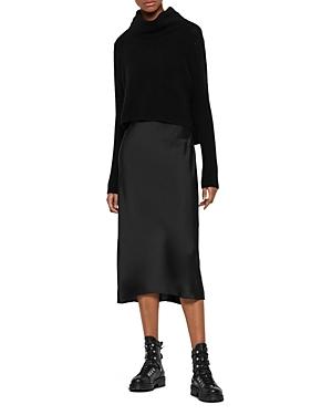 Allsaints Dresses TIERNY TWO-PIECE SLIP DRESS
