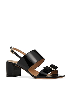 Salvatore Ferragamo Women\'s Giulia Block Heel Sandals