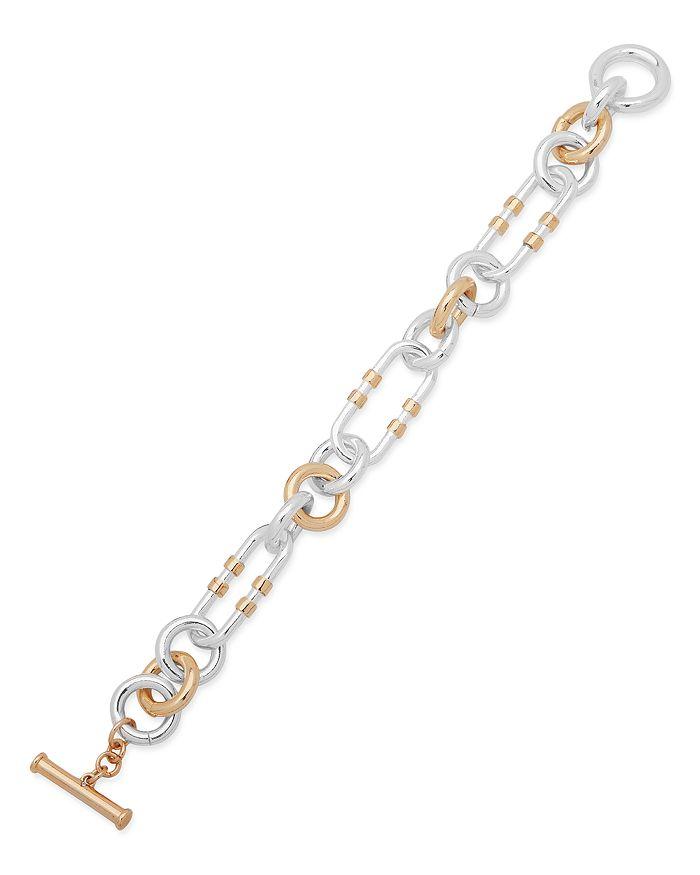 Ralph Lauren - Two-Tone Link Flexible Bracelet
