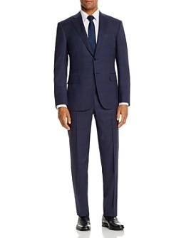 Canali - Siena Tonal Plaid Classic Fit Suit