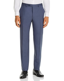 Canali - Siena Tropical Weave Classic Fit Dress Pants
