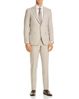 Canali - Capri Mélange Slim Fit Suit