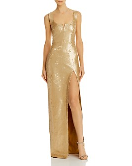 LIKELY - Mineo Sequined Gown