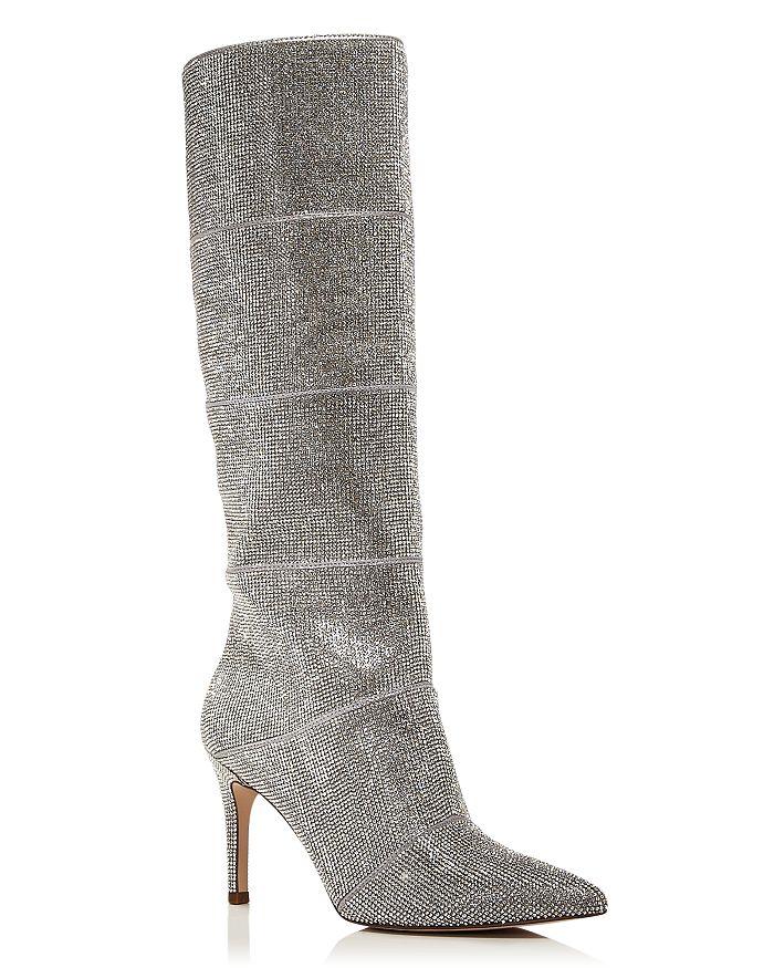 AQUA - Women's Lenny Rhinestone Tall Boots - 100% Exclusive