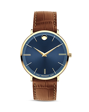 Movado Ultra Slim Watch, 40mm