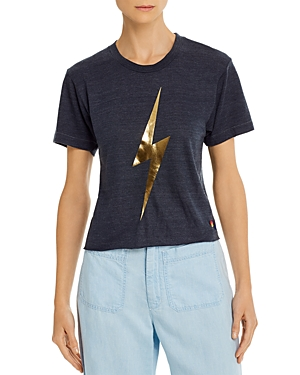 Aviator Nation Bolt Graphic Boyfriend Tee