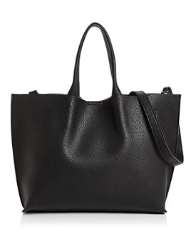AQUA - Faux-Leather Tote - 100% Exclusive