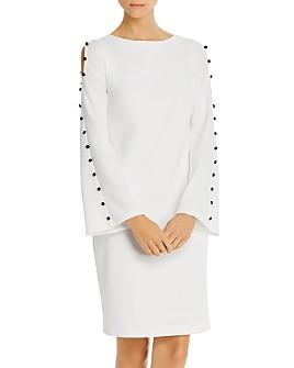Donna Karan - Button-Detail Shift Dress
