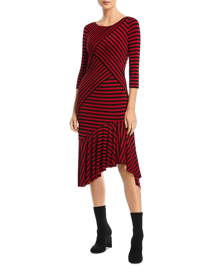 Bailey 44 - Andrea Striped Midi Dress