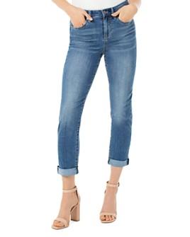 Liverpool Los Angeles - Marley Girlfriend Slim Cropped Jeans in Littleton