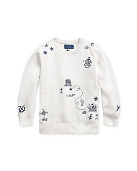 Ralph Lauren - Boys' Embroidered Sweater - Little Kid