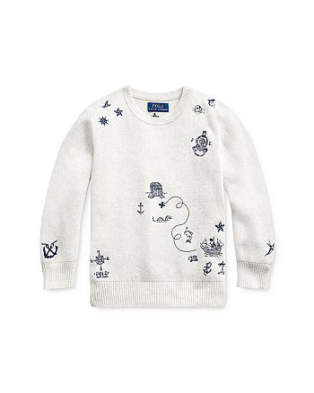 Ralph Lauren - Boys' Embroidered Sweater - Little Kid