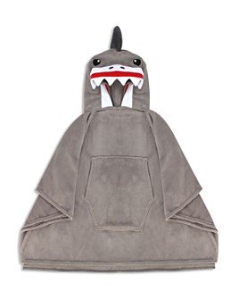 Capelli - Boys' Shark Hooded Poncho