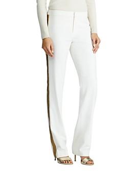Ralph Lauren - Ponte Jacquard Stripe Pants