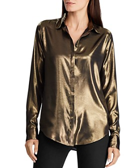 Ralph Lauren - Satin Button-Down Shirt