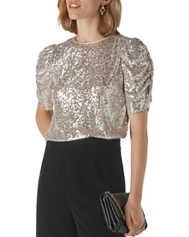 Whistles - Seema Sequined Top