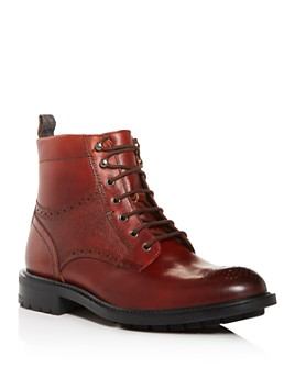 Ted Baker - Men's Brwtton Brogue Leather Boots