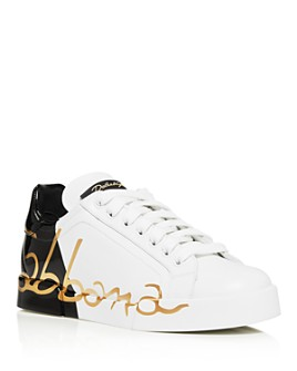 Dolce & Gabbana - Women's Color-Block Logo Sneakers