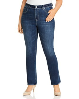 Seven7 Jeans Plus - High Rise Absolute Bootcut Jeans in Pacific