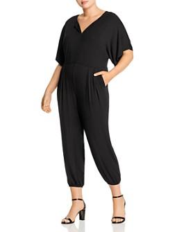 AQUA Curve - Dolman-Sleeve Jumpsuit - 100% Exclusive