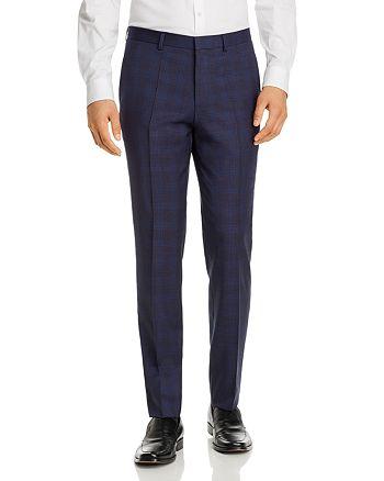 HUGO - Hets Tonal Plaid Extra Slim Fit Suit Pants
