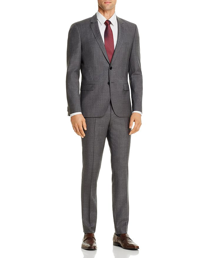 HUGO - Hesten Sharkskin Extra Slim Fit Suit Separates