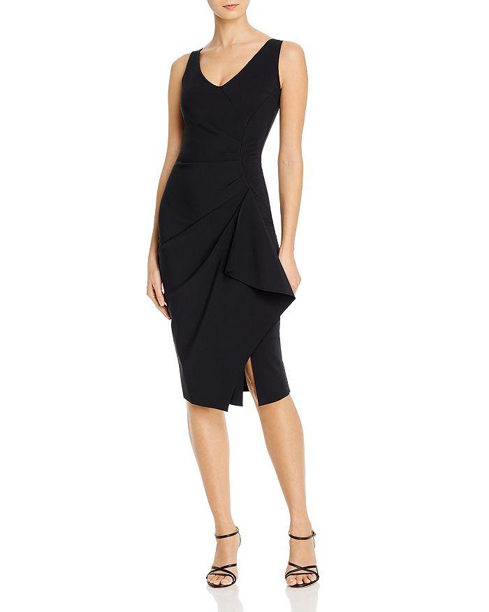 Chiara Boni La Petite Robe FAUX-WRAP DRESS - 100% EXCLUSIVE