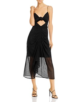 Significant Other - Malia Eyelet Cutout Midi Dress