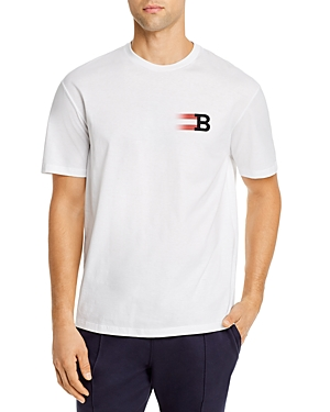Bally B Graphic Logo Tee-Men