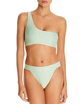 Charlie Holiday - Tide One-Shoulder Bikini Top & Bamba Bikini Bottom
