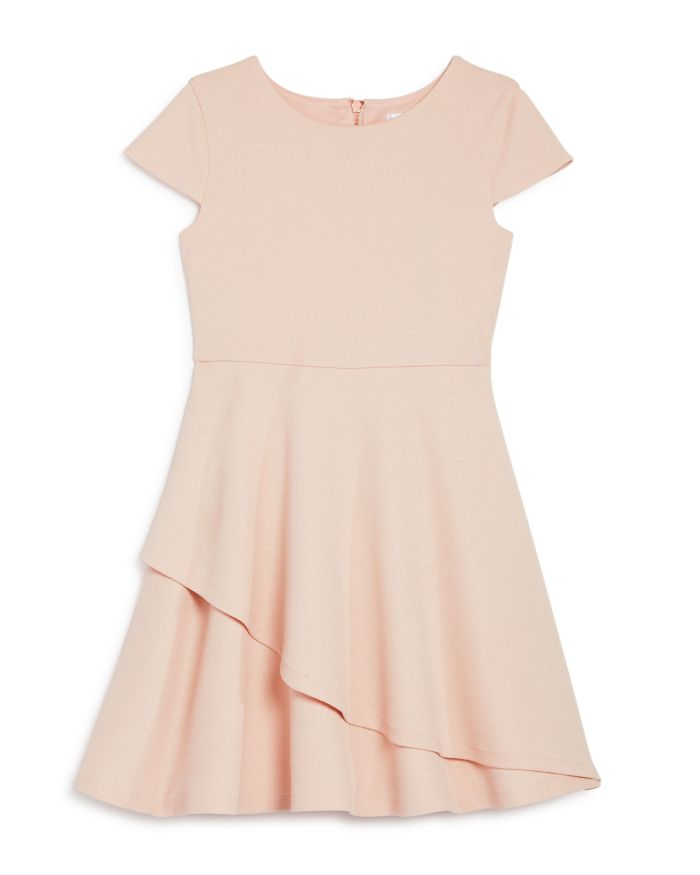 US Angels US Angel Girls' Cap-Sleeve Sparkle Dress, Little Kid - 100% Exclusive  | Bloomingdale's